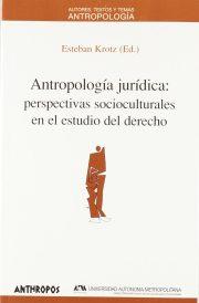 antropología jurídica
